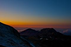 The last scene of the day (Yoshia-Y) Tags: sunset tateyama mtsdainichi