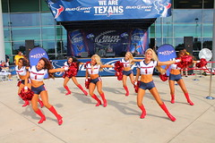 IMG_8839 (grooverman) Tags: plaza game sexy canon eos rebel football nice texas cheerleaders legs boots stadium nfl houston booty t3 dslr budweiser texans pregame reliant 2013