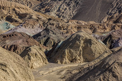 Bad Colors (Adam Isaac Photography) Tags: california nature beautiful canon landscape nationalpark colorful nps deathvalley badlands geology volcanic desertlandscape artistspallete canon60d
