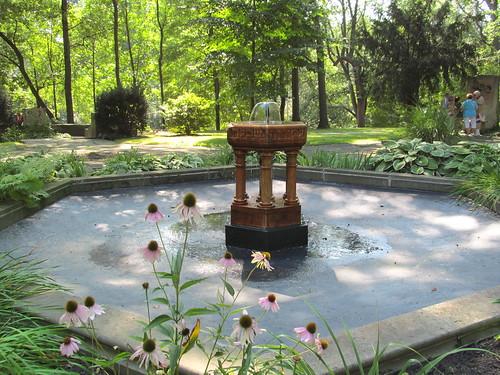 Fountain of Wisdom at the Hebrew Cultural Garden - Cleveland, Ohio ...