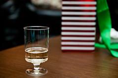Bubbly (Craig's Collection) Tags: christmas nikon stripes champagne bubbles ribbon d90 sb700 sigma1750f28oshsm