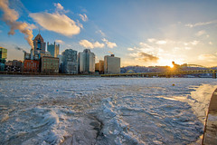 Sunflare over Mt. Washington by the iced over Allegheny River in Pittsburgh (Dave DiCello) Tags: snow nikon pittsburgh northshore alleghenyriver pittsburghskyline d600 steelcity robertoclementebridge andywarholbridge pittsburghwinter bridgesinpittsburgh pittsburghinthesnow pittsburghrivers winterinpittsburgh snowinpittsburgh davedicello pittsburghpictures picturesofpittsburgh pittsburghskylinepictures pittsburghalleghenyriver pittsburghice icepittsburghrivers icyalleghenyriver pittsburghinthewinter winterpicturesofpittsburgh