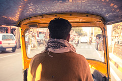 Jaipur Rickshaw (doingalotofnothing) Tags: travel india rickshaw jaipur trafic