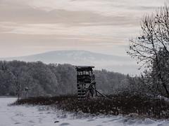 Rhn - Kreuzberg (verweile.doch) Tags: schnee winter snow kreuzberg germany deutschland hessen rhn hochstand verweiledoch