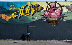 Paco-Mural (cmdpirx) Tags: door art st wall germany painting one graffiti 1 mural paint artist harbour wand hamburg can spray piece paco hafen anus tür pauli sanchez hafenstrasse fatcap urbanarte anusone