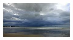 Ciel menaçant Boulogne sur mer