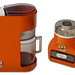 ABS plastic toy coffee maker and grinder