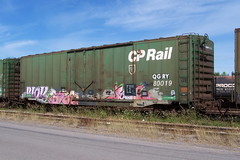 QGRY 80019 b Ottawa, Ontario 08212007 ©Ian A. McCord (ocrr4204) Tags: ontario canada train wagon kodak ottawa railcar traincar pointandshoot mccord ocr railroadcar walkley z740 freightcar railwaycar ocrr ottawacentralrailway walkleyyard 1000000railcars ianmccord ianamccord