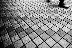 (ShiroWengPhotography) Tags: white black square shoes leg taiwan style edge taipei block