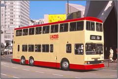 HK3033FL (Gerry McL) Tags: hongkong dragon 1998 starferry dennis kmb kowloonmotorbus