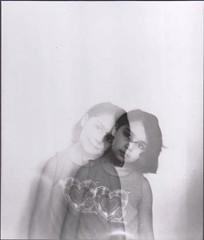 CopyPaste (YasmineBoumaiz) Tags: horse white man black slr art darkroom photography blackwhite holga eyes exposure ray sister cd double manual developed