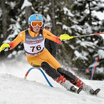 Jack FORSYTH of WMSC/Canada takes 11th Place in the U14 Boys Slalom Race held on Whistler Mountain on April 5th, 2014. Photo by Scott Brammer - coastphoto.com