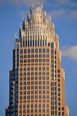 Bank of America Corporate Headquarters (James Willamor) Tags: city urban building tower skyscraper corporate office nc charlotte north central headquarters center highrise bankofamerica carolina cbd qc bofa clt charlotteskyscraper