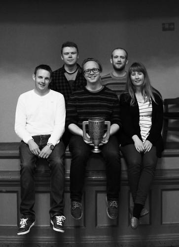 Vinnarlaget i rebusløpet 2014