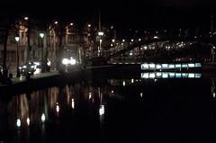 10Anne-Marie Bonnisseau Canal Saint-Martinred (Anne-Marie Bonnisseau) Tags: paris canal lumière couleurs nuit lumire