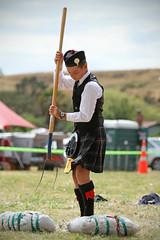(Paul J's) Tags: boy kilt fork games highland teen toss hay pitchfork sheaf turakina