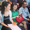 Relatives of missing #MH370 victims present at briefing in Kuala Lumpur @cnni