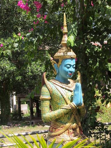 Promenade en forêt, Cambodge