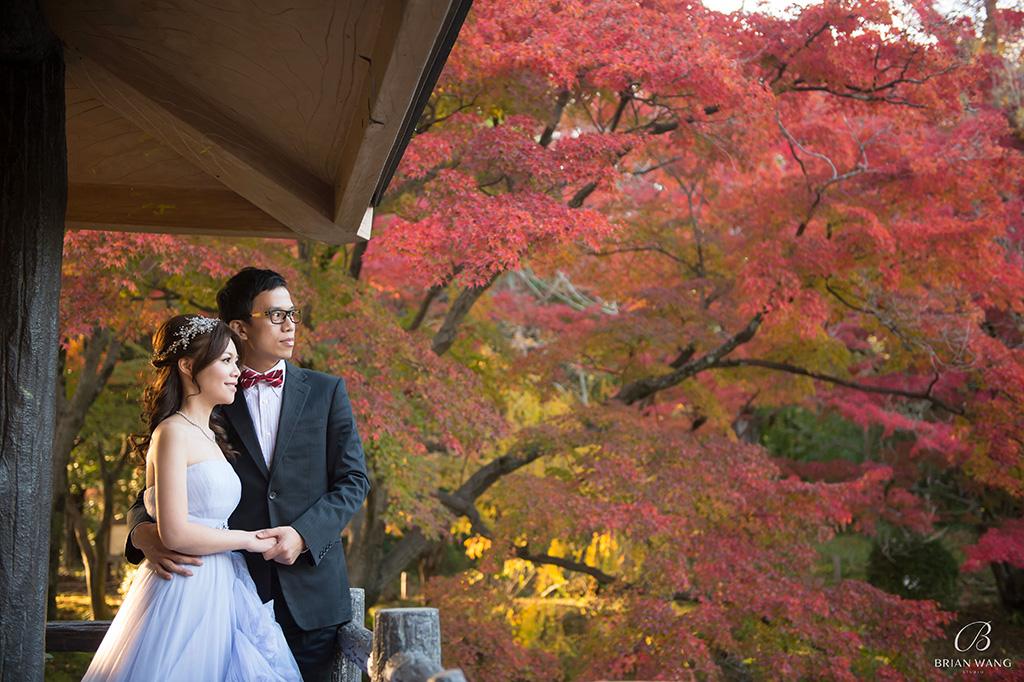 '京都楓葉婚紗,海外婚紗,日本京都婚紗,櫻花婚紗,自主婚紗,自助婚紗,婚攝Brian