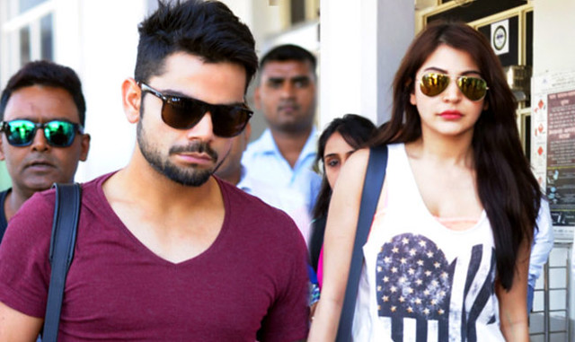 Anushka Sharma Cheering VIRAT KOHLI in ICC World Cup 2015