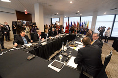 Beginning of the meeting / début de la rencontre