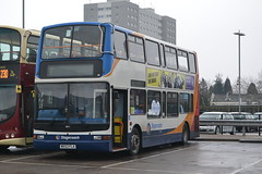 Stagecoach Hull 18021 (AJHigham) Tags: president hull stagecoach interchange trident paragon plaxton transbus 18021 mx53fla
