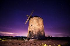En el camino del Quijote (Enrique Gmez (yvoictra)) Tags: longexposure sky windmill night stars nikon molino explore toledo estrellas nocturna d610 1424mm explored20160505