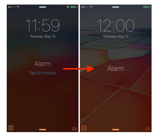 គន្លឹះសាមញ្ញក្នុងការបិទ Snooze ពេលម៉ោងរោទិ៍ ដើម្បីកុំឲ្យច្រលំចុចឲ្យម៉ោងរោទិ៍ម្តងទៀត សម្រាប់ iOS !