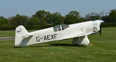 Percival Mew Gull G-AEXF (Fleet flyer) Tags: gull bedfordshire shuttleworth percival racer mew mewgull shuttleworthcollection oldwarden percivalmewgull gaexf racingaircraft percivalmewgullgaexf