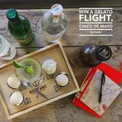 Tag a friend and BOTH of you will get in the drawing to win one FREE flight - a chance to learn and discover the special flavors of fermented Mexican spirits. For the month of May we are launching a special #cincodimayo flight with expert advice from #Jer (bucketandbay) Tags: jerseycity gelato bucketandbay