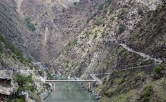 Khadamukh, confluence of river Iravati and Budhil (Rupak Sarkar and Uma Sarkar) Tags: ravi himachal himalayas bharmour budhil iravati