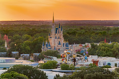 A View Of The Kingdom (Michael Billick) Tags: colors photography orlando nikon florida sunsets disneyworld wdw waltdisneyworld resorts tomorrowland kissimmee hdr magickingdom bigthundermountain amusementparks astroorbiter cinderellacastle disneyparks disneyphotography disneyphotoblog nikond610