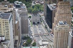 Brooklyn-Battery tunnel from 4 WTC (Tony Shi, Life) Tags: nyc newyorkcity ny newyork manhattan worldtradecenter wtc lowermanhattan worldtradecenters downtownmanhattan 4wtc