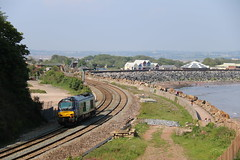 68017 | Langstone Rock (Western Railway Photography) Tags: dawlish south devon sea wall