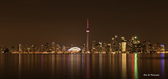 Good night Toronto (EllenYe) Tags: city toronto ontario canada building beautiful skyline architecture night buildings outside island landscapes downtown cntower cityscapes timeexposure nightlight d750 nightview cityview citylight citynight architectures beautifulcity 24120mmf4