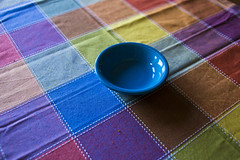 table cloth colors-001 (swardraws) Tags: colorful dish bowl fiestaware