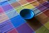 table cloth colors-001 (swardraws) Tags: colorful dish bowl fiestaware