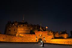 Edinburgh Castle (iDvL) Tags: trip castle fun scotland edinburgh edinburghcastle longexp
