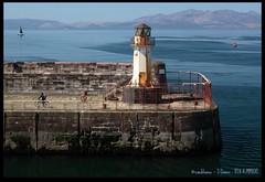 Ardrossan Lighthouse 2 (zweiblumen) Tags: uk lighthouse scotland alba ardrossan 1901 polariser northayrshire canoneos50d ardrossanharbour zweiblumen airdrosain