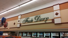 Fresh Dairy (Retail Retell) Tags: kroger grocery store clarksdale ms retail script dcor greenhouse build