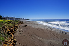 Cambria, CA-California-Central-Coast 2016-05-17 (randyandy101) Tags: ocean california blue sunset sea sky panorama sun seascape seaweed reflection beach water rock landscape outdoors photography coast seaside sand rocks whitewater surf waves view shoreline bigsur rocky bluesky cliffs shore vista coastline cambria moonstonebeach shimmering seafoam californiacentralcoast bigsurhighway cambriapinesbythesea