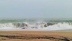 La musica del mare finisce sulla riva o nel cuore dell'uomo che ascolta? (Francesca249) Tags: sea mare spiaggia onda maredinverno
