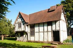 Avoncroft Museum. 15th Century Merchant's House. 29 September 2013. (ricsrailpics) Tags: uk house museum buildings worcestershire halftimbered 15thcentury bromsgrove 2013 avoncroft stokeheath