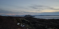 Icelandic landscape (Budoka Photography) Tags: sea mountain snow nature landscape lava iceland tranquility wideangle serene sonyalpha7 lavaground sonyvariotessartfe1635mmf4zaoss hkanolsson holsson shcolsson budokaphotography