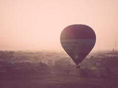 Luxor ballooning (avriel) Tags: hot sunrise fly flying air balloon flight egypt luxor