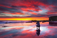 capturing the moment (Andy Kennelly) Tags: ocean california beach landscape colorful photographer malibu pch