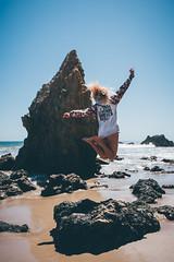 Beartooth (TaylorHayes) Tags: beartooth beach jump action ocean water matador california cali pch pacific