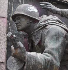 Vans Hero of the Revolution (adamfrunski) Tags: sculpture soldier memorial sofia bulgaria