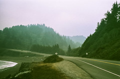 45470014 (danimyths) Tags: ocean california mountains film beach water landscape coast waterfront pacific roadtrip pch pacificocean westcoast californiacoast filmphotography pacificcostalhighway