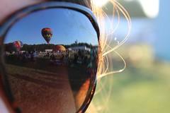 IMG_1481 (thehachland) Tags: sunset fire flames balloon hotairballoons ballstonspa saratogacounty saratogacountyfairgrounds saratogaballoonandcraft